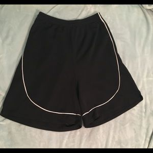 Black and white gym/basketball shorts!